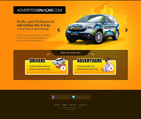 Advertise on a Car